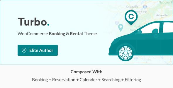 Turbo v5.0.2 — Car Rental System WordPress Theme
