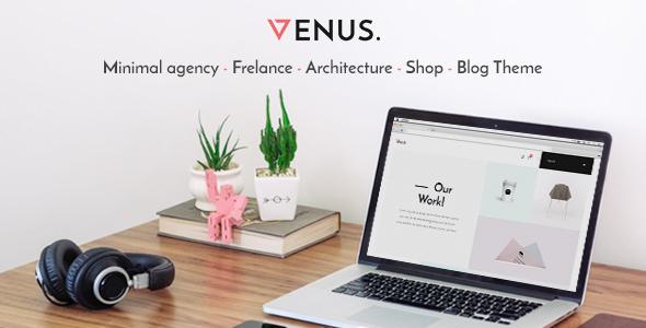 Venus v1.0.4 — Minimal Agency, Freelance, Architecture