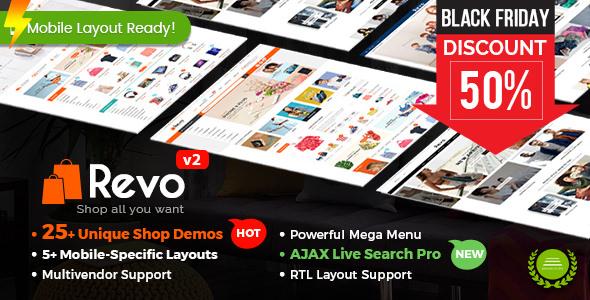 Revo v2.6.0 — Multi-purpose WooCommerce WordPress Theme