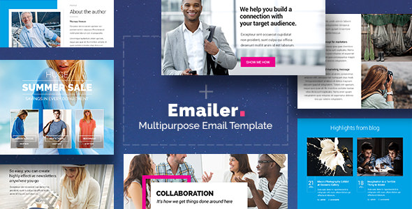Emailer — Drag & Drop Email Template + Builder Access