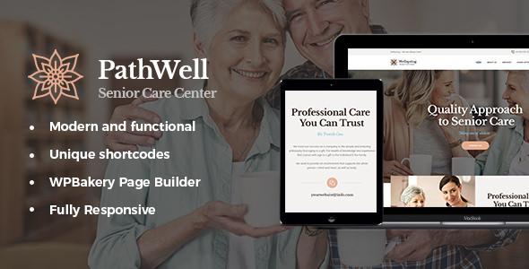 PathWell v1.1.0 — A Senior Care Hospital WordPress Theme