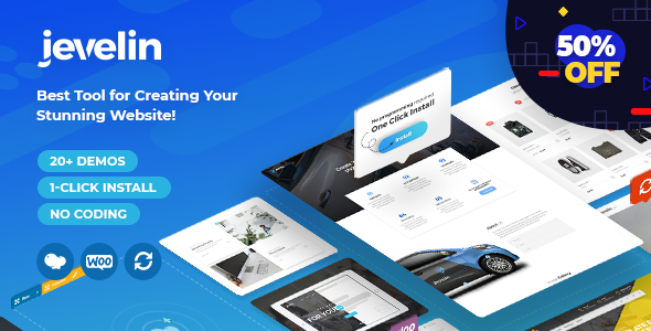 Jevelin v3.3.0 — Multi-Purpose Premium Responsive Theme