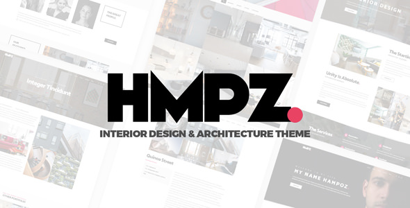 Hampoz v1.1.3 — Responsive Interior Design & Architecture Theme