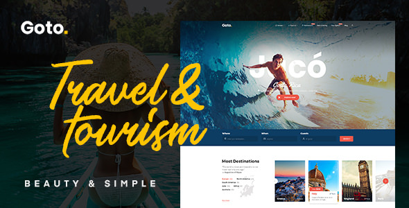 Goto v1.3 — Tour & Travel WordPress Theme