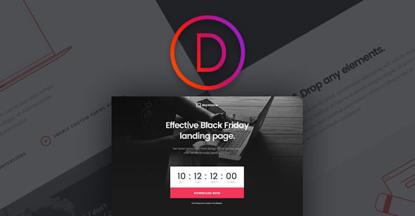 Black Friday Divi Layout Pack 2018