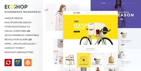ECOSHOP v1.0 — Multipurpose eCommerce WordPress Theme