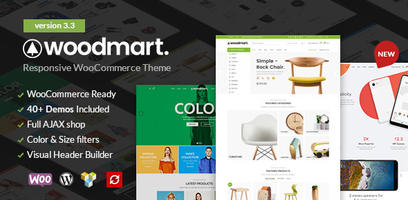 WoodMart v3.3 — Responsive WooCommerce WordPress Theme