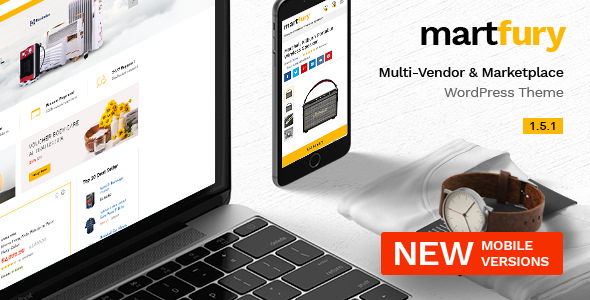 Martfury v1.5.1 — WooCommerce Marketplace Theme