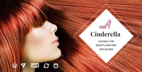 Cinderella v2.0 — Theme for Beauty, Hair and SPA Salons