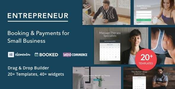 Entrepreneur v2.0.5 — Booking for Small Businesses