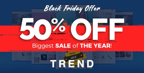 Trend v2.3 — Multipurpose Modern Shop WooCommerce Theme