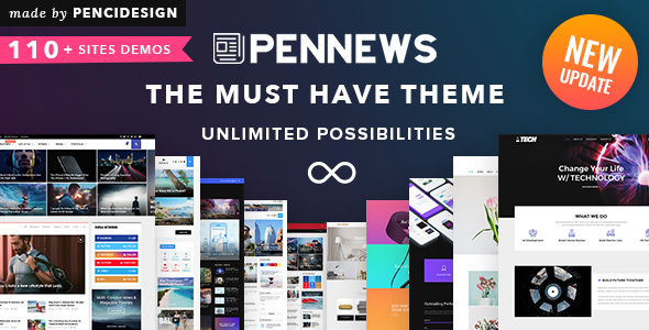 PenNews v6.3 — News/ Magazine/ Business/ Portfolio