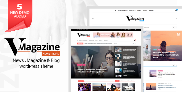 Vmagazine v1.1.0 — Blog, NewsPaper, Magazine Themes