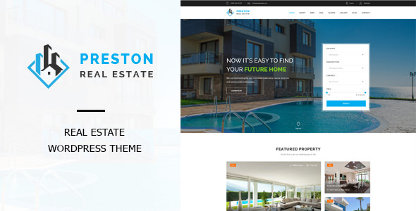 Preston v1.2.0 — Real Estate WordPress Theme