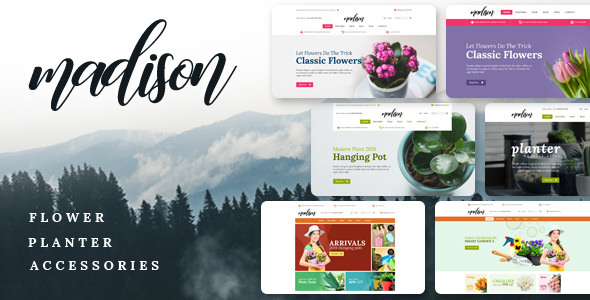 Madison — Multipurpose OpenCart Theme (Included Color Swatches)
