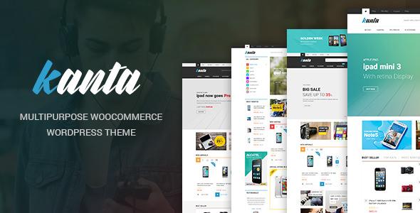 Kanta v2.0 — Multipurpose WooCommerce Theme