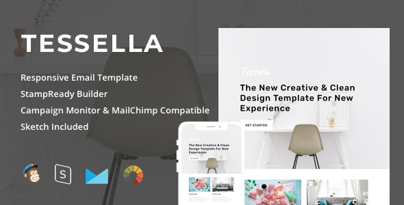 Tessella — Responsive Email + StampReady Builder