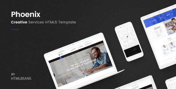 Phoenix — Services HTML Template