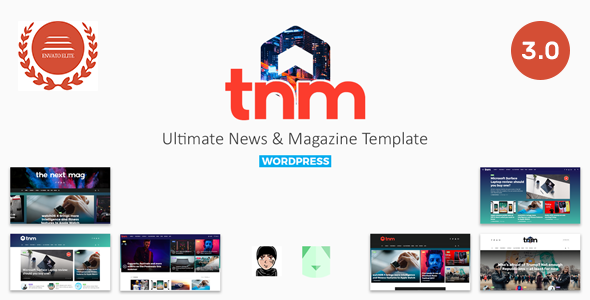 The Next Mag v3.0 — Ultimate Magazine WordPress Theme