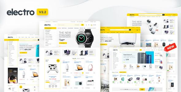 Electro v2.2.5 — Electronics Store WooCommerce Theme
