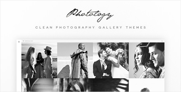 Photology v1.0.4 — Clean Photography Gallery Themes
