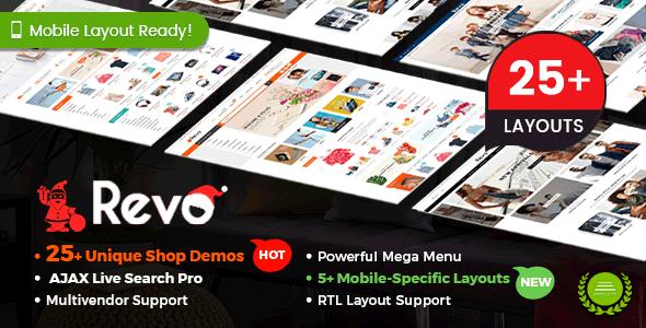 Revo v3.1.0 — Multi-purpose WooCommerce WordPress Theme