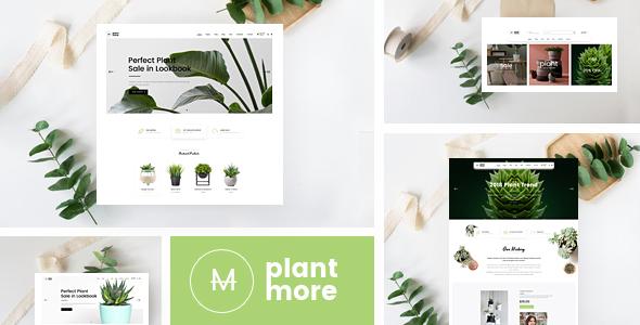 Plantmore v1.1.1 — Responsive Theme for WooCommerce
