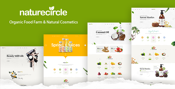 NatureCircle v1.0.1 — Organic Theme for WooCommerce WordPress