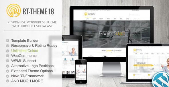 RT-Theme 18 v1.9.9.5 — Responsive WordPress Theme