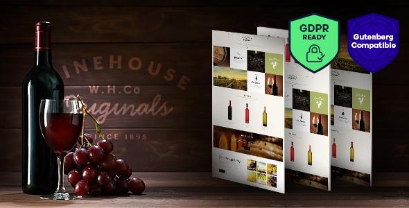 Wine House v2.2 — Winery & Restaurant WordPress Theme
