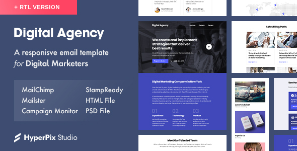 Digital Agency — Email Template