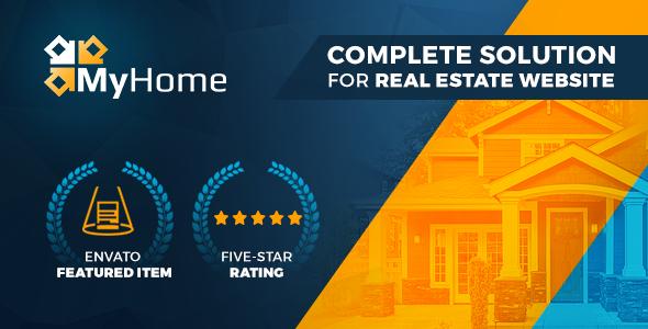 MyHome v3.1.19 — Real Estate WordPress Theme