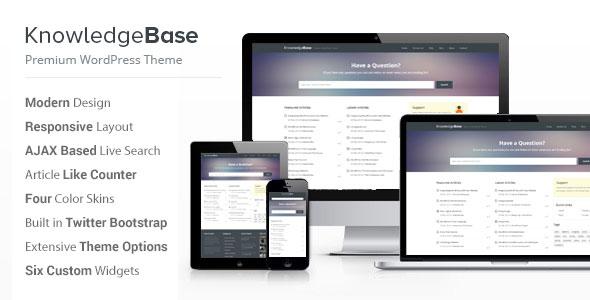 Knowledge Base v1.5.2 — A WordPress Wiki Theme