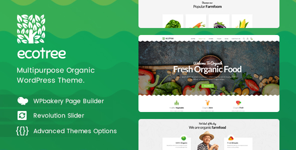 Ecotree v1.1 — Organic Food WordPress Theme