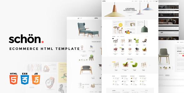 schön. — eCommerce HTML Template