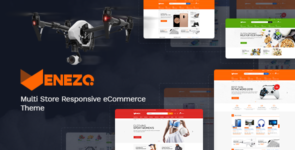Venezo — Technology OpenCart Theme (Included Color Swatches)