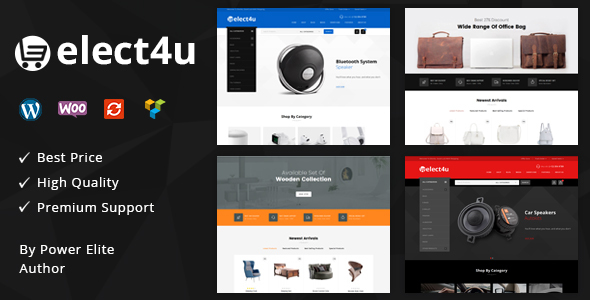 Elect4u v1.0 — Multipurpose WooCommerce Theme
