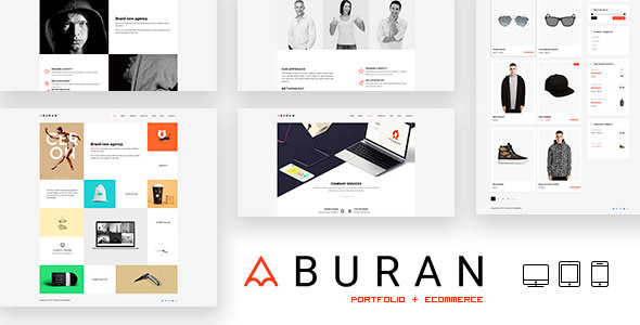 BURAN v2.0.1 — Creative Portfolio and Business Theme
