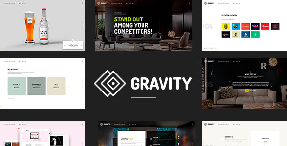 Gravity v1.0.7 — Creative Agency & Presentation Theme