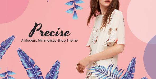 Precise v1.5 — A Modern, Minimalistic Shop Theme