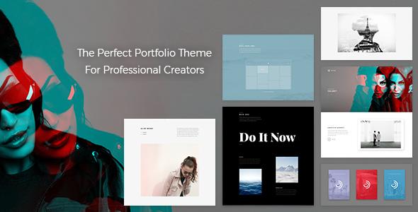 Wythe v1.3.5 — Creative Portfolio Theme