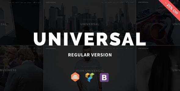 Universal v1.0.7 — Corporate WordPress Multi-Concept Theme