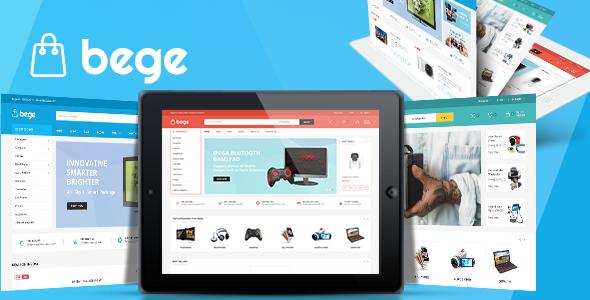 Bege v1.3.2 — Responsive WooCommerce WordPress Theme