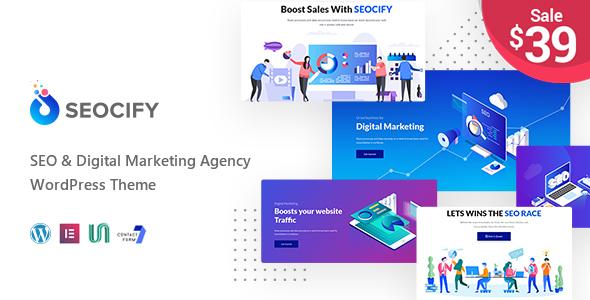 Seocify v1.1.3 — SEO And Digital Marketing Agency