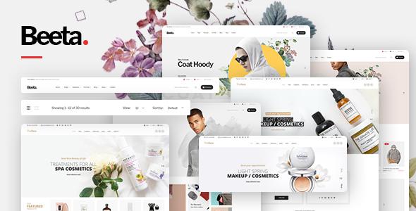 Beeta v1.0.2 — Multipurpose WooCommerce Theme