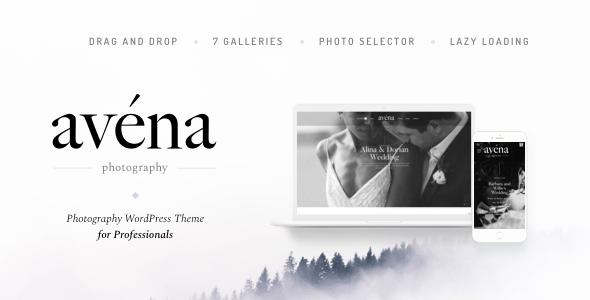 Avena v1.0.3 — Photography WordPress for Professionals