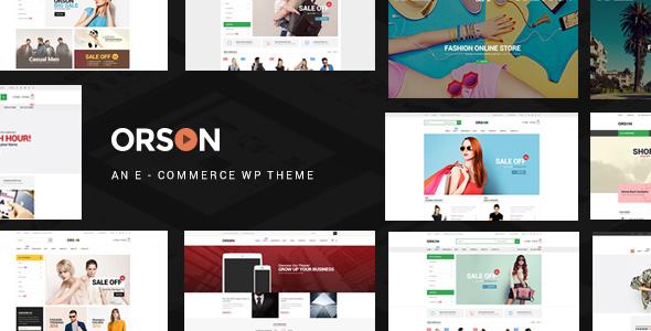 Orson v2.7 — Innovative Ecommerce WordPress Theme