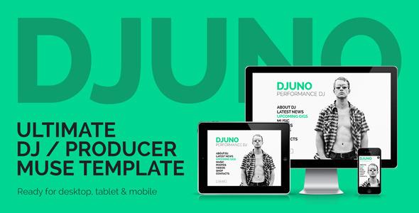 DJuno — Ultimate DJ / Producer Muse Template