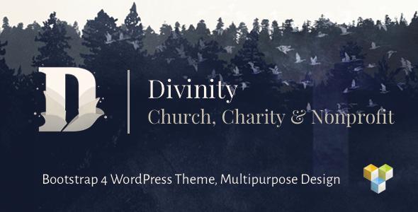 Divinity v1.3.1 — Church, Nonprofit, Charity Events Theme