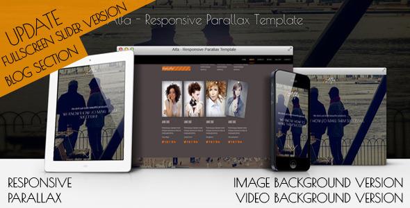 Alfa v2.0 — Responsive OnePage WordPress Theme